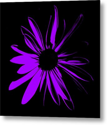 Metal Print featuring the digital art Flower 10 by Maggy Marsh