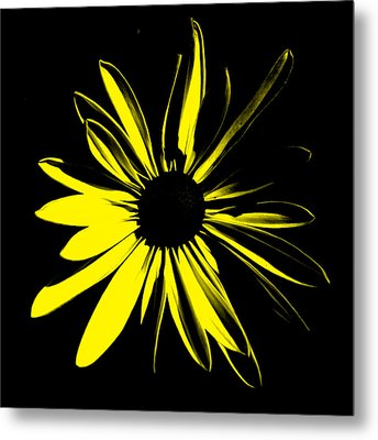 Metal Print featuring the digital art Flower 8 by Maggy Marsh