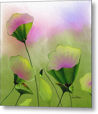 Flower Bowls Metal Print
