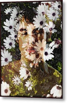 Flower Boy Metal Print