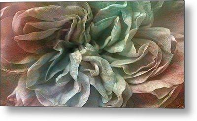 Flower Dance - Abstract Art Metal Print