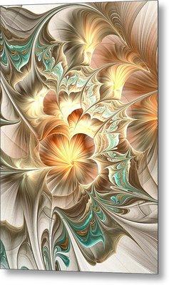 Flower Daze Metal Print