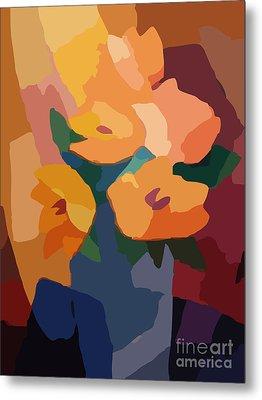 Flower Deco I Metal Print by Lutz Baar