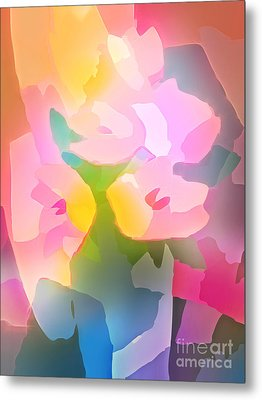Flower Deco IIi Metal Print by Lutz Baar