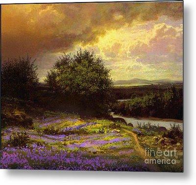 Flower Dell Metal Print by Robert Foster