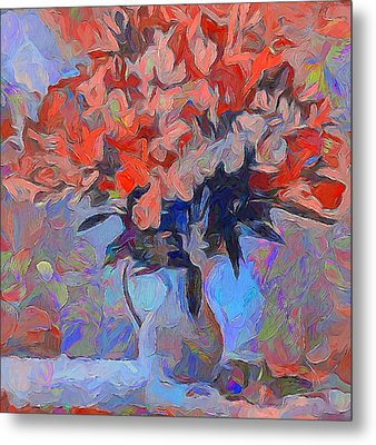 Flower Flow Metal Print by Yury Malkov
