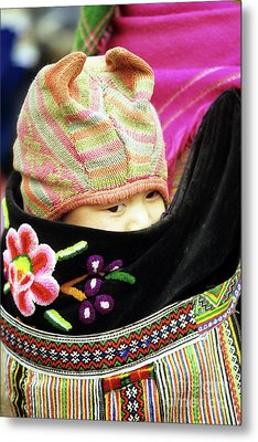 Flower Hmong Baby 02 Metal Print by Rick Piper Photography