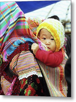 Flower Hmong Baby 04 Metal Print by Rick Piper Photography