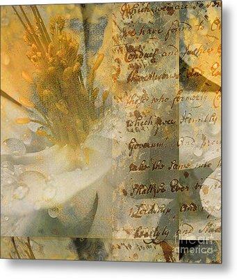 Flower II Metal Print by Yanni Theodorou