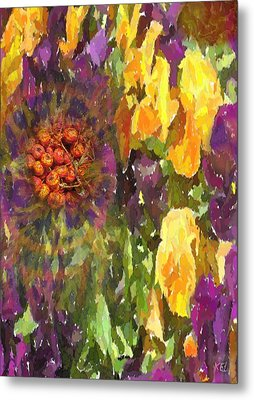 Flower Metal Print by Kelly McManus