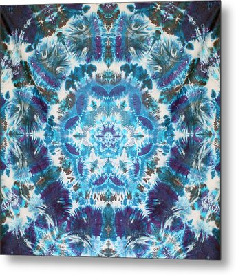 Flower Of Life Metal Print by Courtenay Pollock