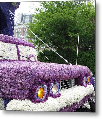 Flower Parade. 03 Blumencorso Holland 2011 Metal Print by Ausra Huntington nee Paulauskaite