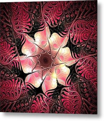 Flower Scent Metal Print