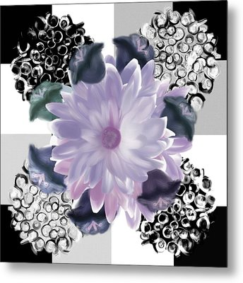 Flower Spreeze Metal Print by Christine Fournier
