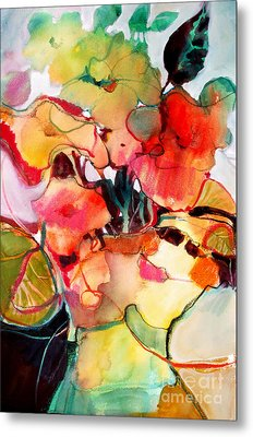Flower Vase No. 2 Metal Print