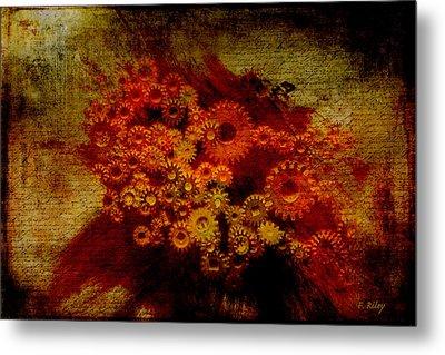 Flower Works Metal Print by Fran Riley