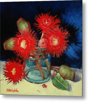 Flowering Gum Still Life Metal Print