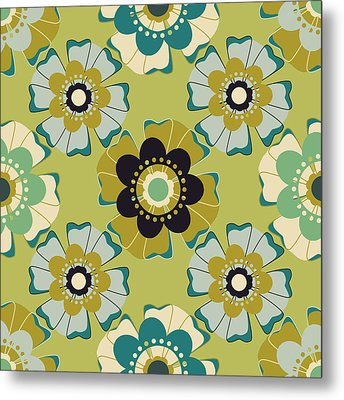 Flowers 4 Metal Print by Lisa Noneman