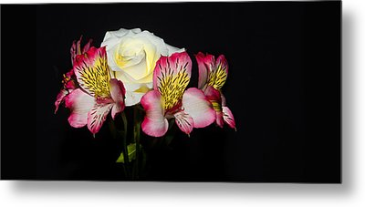 Metal Print featuring the photograph Flowers by Cecil Fuselier