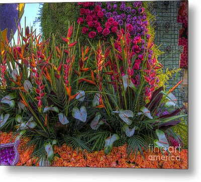 Flowers Everywhere Metal Print