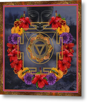 Flowers For Kali Ma Metal Print