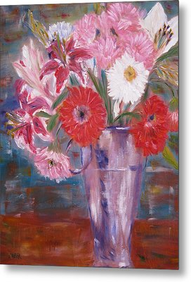 Flowers For Me Metal Print