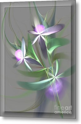 Flowers For You Metal Print by Svetlana Nikolova