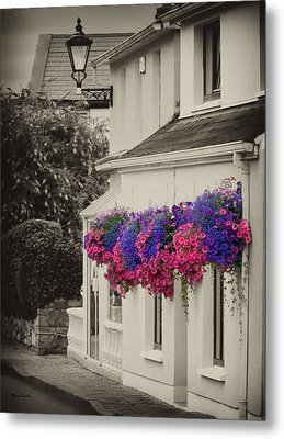Flowers In Cashel Metal Print