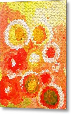 Flowers Iv Metal Print by Patricia Awapara