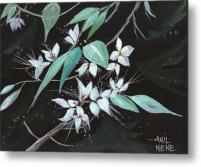 Flowers N Petals Metal Print by Anil Nene