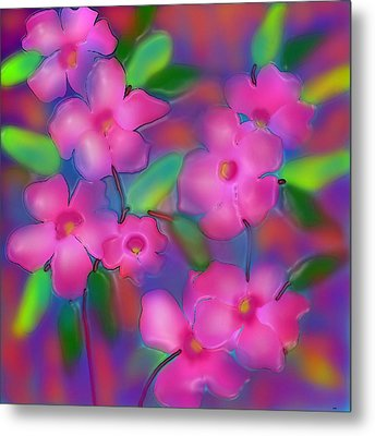 Flowers Of October Metal Print by Latha Gokuldas Panicker