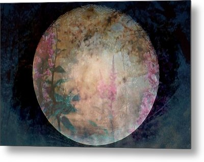 Flowers On The Moon  Metal Print by Rick Todaro