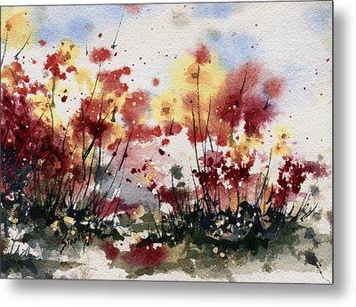 Flowers Metal Print by Sam Sidders
