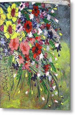 Flowers Metal Print by Shilpi Singh