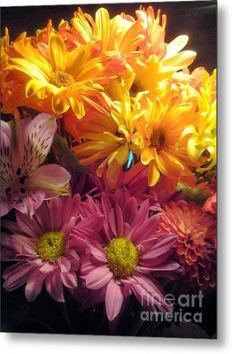 Flowers2 Metal Print by Susan Townsend