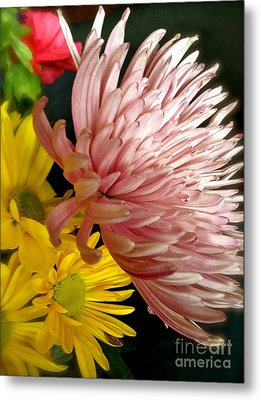 Flowers3 Metal Print by Susan Townsend