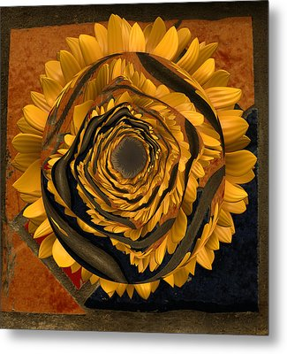 Flowersun - 09279ff223a01222 Metal Print by Variance Collections