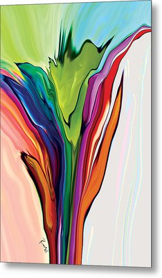 Flowery 5 Metal Print by Rabi Khan