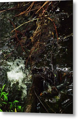 Flowing And Churning Of The Kaaterskill Metal Print