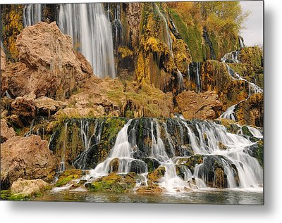 Flowing To The Snake Metal Print by Jim Southwell