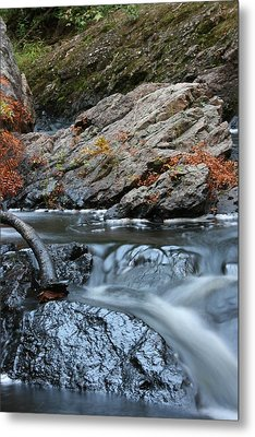 Flowing Water Metal Print by Paula Brown