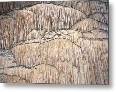 Flowstone Formations Metal Print
