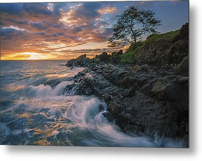 Fluid Motion Metal Print by Hawaii  Fine Art Photography