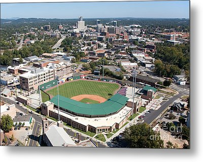 Fluor Field At The West End Greenville Metal Print by Bill Cobb