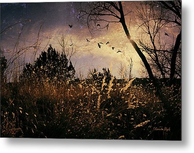 Metal Print featuring the photograph Flushed by Karen Slagle
