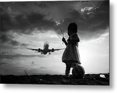 Fly Again Metal Print