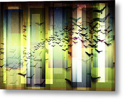 Fly By Dawn Metal Print by Stacey Clarke