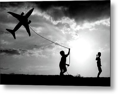 Fly My Plane Metal Print
