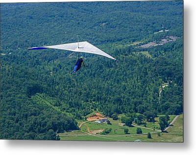 Metal Print featuring the photograph Flyin High by Susan  McMenamin