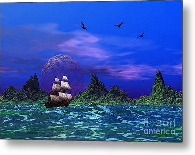 Metal Print featuring the photograph Flying Dutchman by Mark Blauhoefer